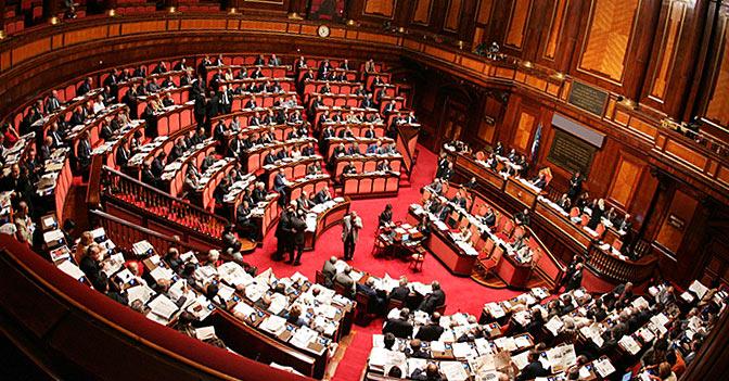 Senato delle autonomie le regioni for Formazione parlamento