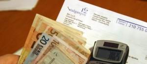 soldi e calcolatrice