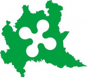 Lombardia-Flag-map