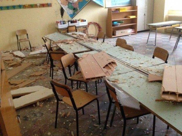 Personale Scuola: come prevenire i rischi da distacco di intonaco?