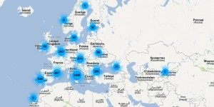 mappa patto dei sindaci UE