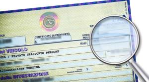 pubblico registro automobilistico