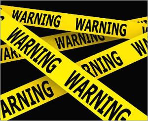phishing, warning attenzione pericolo