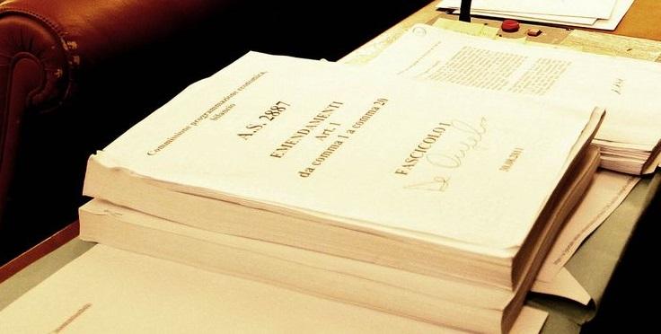 Legge di Bilancio 2018, la lista degli emendamenti approvati