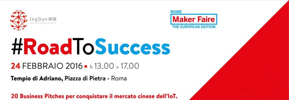 Imprese, Innovazione e Made in Italy 4.0: ecco #RoadToSuccess