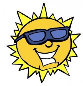 sole-con-occhiali-da-sole-a-colori