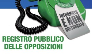 telemarketing, registro opposizioni