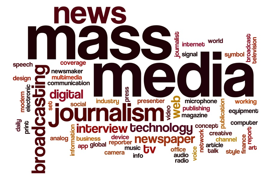 Work with the mass media