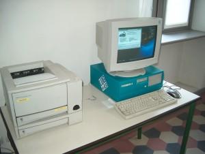 vecchi pc, apparecchiature informatiche