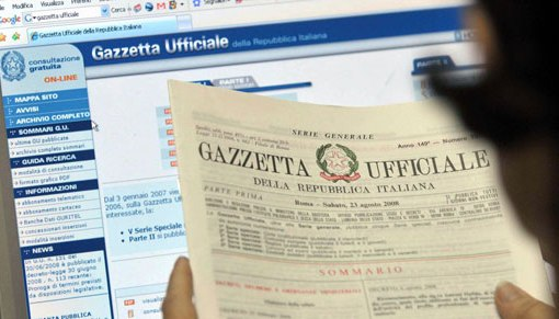 Milleproroghe: il testo del Decreto in Gazzetta Ufficiale