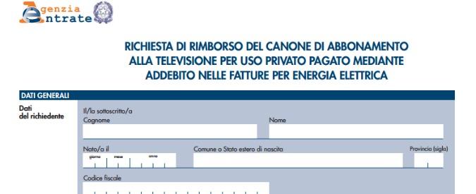 ... Rimborsi Canone TV: Nuove FAQ Per Fugare Tutti I Dubbi