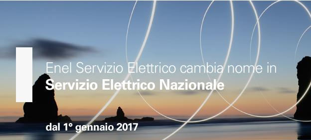 Enel Servizio Elettrico diventa Servizio Elettrico Nazionale: ecco cosa occorre sapere