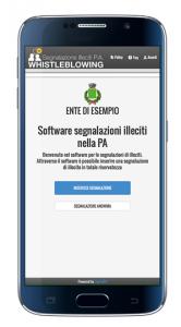 Software segnalazioni PA telefono