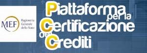 Piattaforma certificazione crediti PA