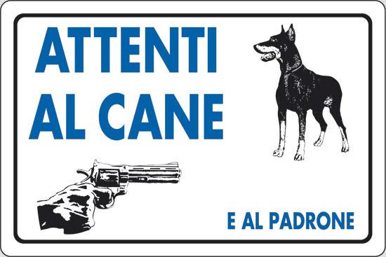 """Il cartello """"Attenti al cane"""" esonera da un eventuale risarcimento?"""