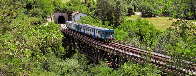 Giornate dell'ambiente e della terra: le tratte in treno più ecologiche e veloci