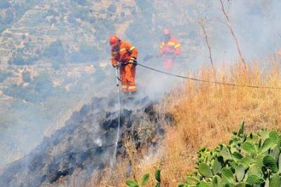 Incendi: in Sicilia situazione critica