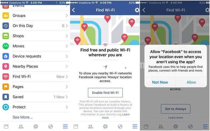 Wi Fi gratis con Facebook? Nuova app social anche in Italia