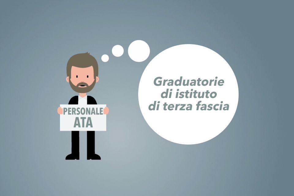 Graduatorie III fascia ATA, ecco come presentare le domande