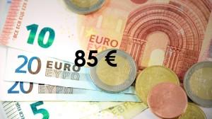 85 euro scuola