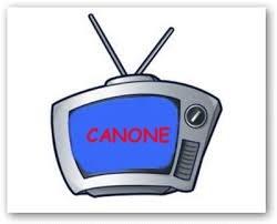 canone TV televisione