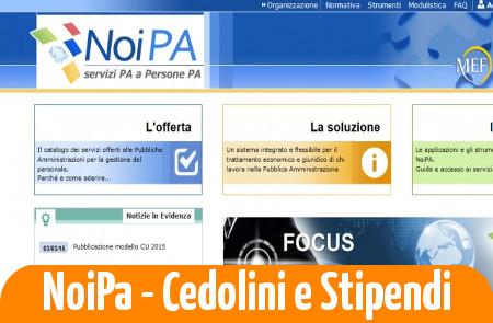 NoiPA cedolino Marzo: le date e le novità sulle procedure del portale