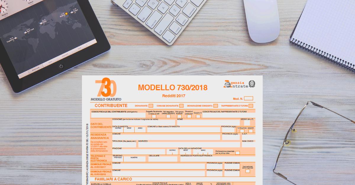 Modello 730 2018: scadenze, istruzioni, requisiti esonero