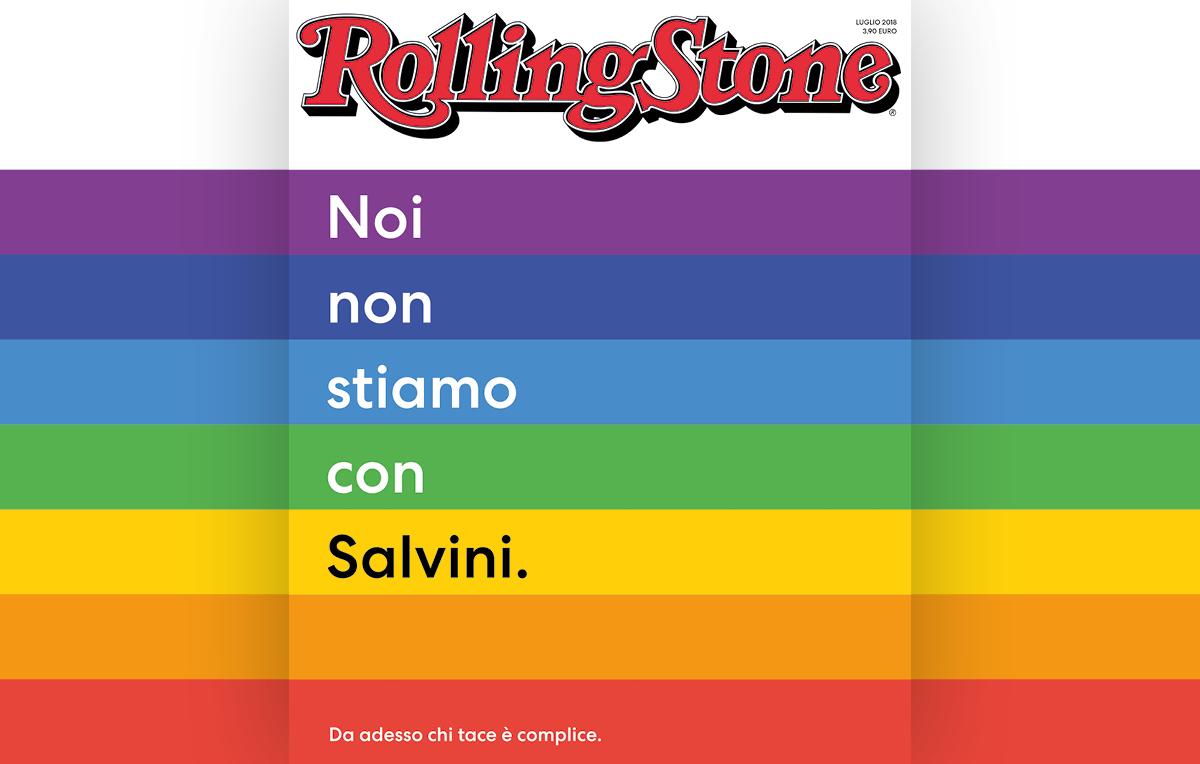 Cantanti e attori contro Matteo Salvini: l'appello di Rolling Stone Italia