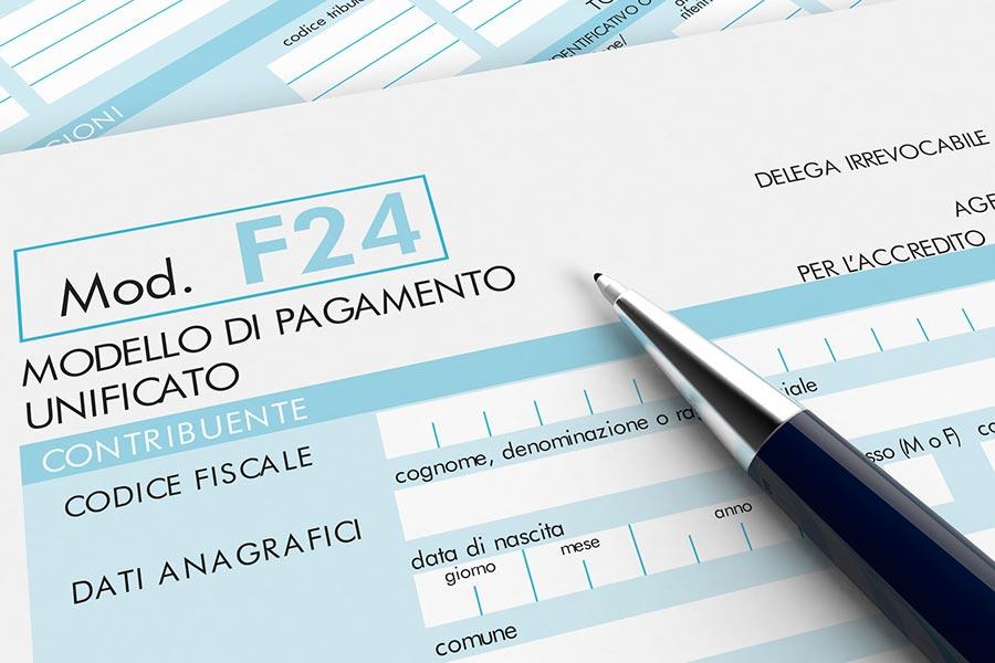 f24 inps artigiani