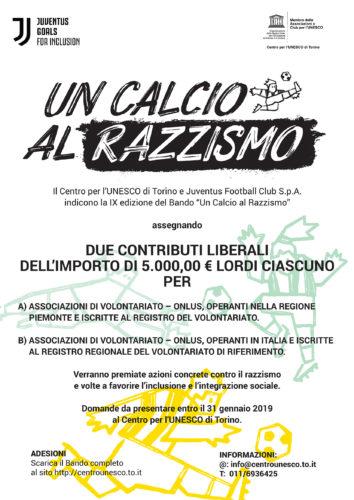 """Bando Nazionale """"Un Calcio al Razzismo"""" 2018: Requisiti e scadenze"""