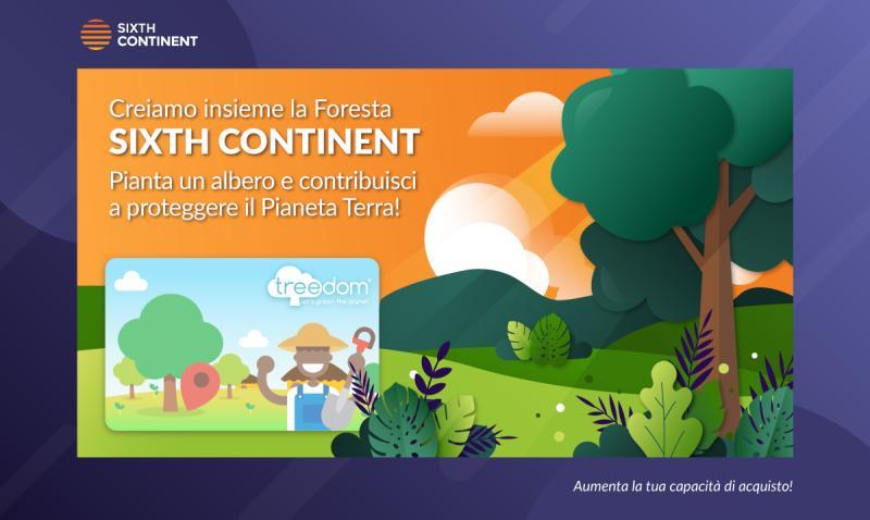 SixthContinent e-commerce appassionato di green