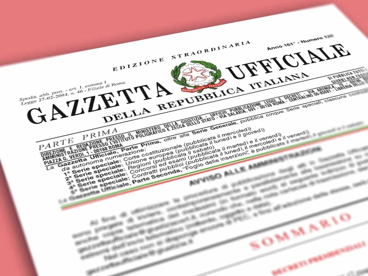decreto-semplificazioni-legge-gazzetta-ufficiale
