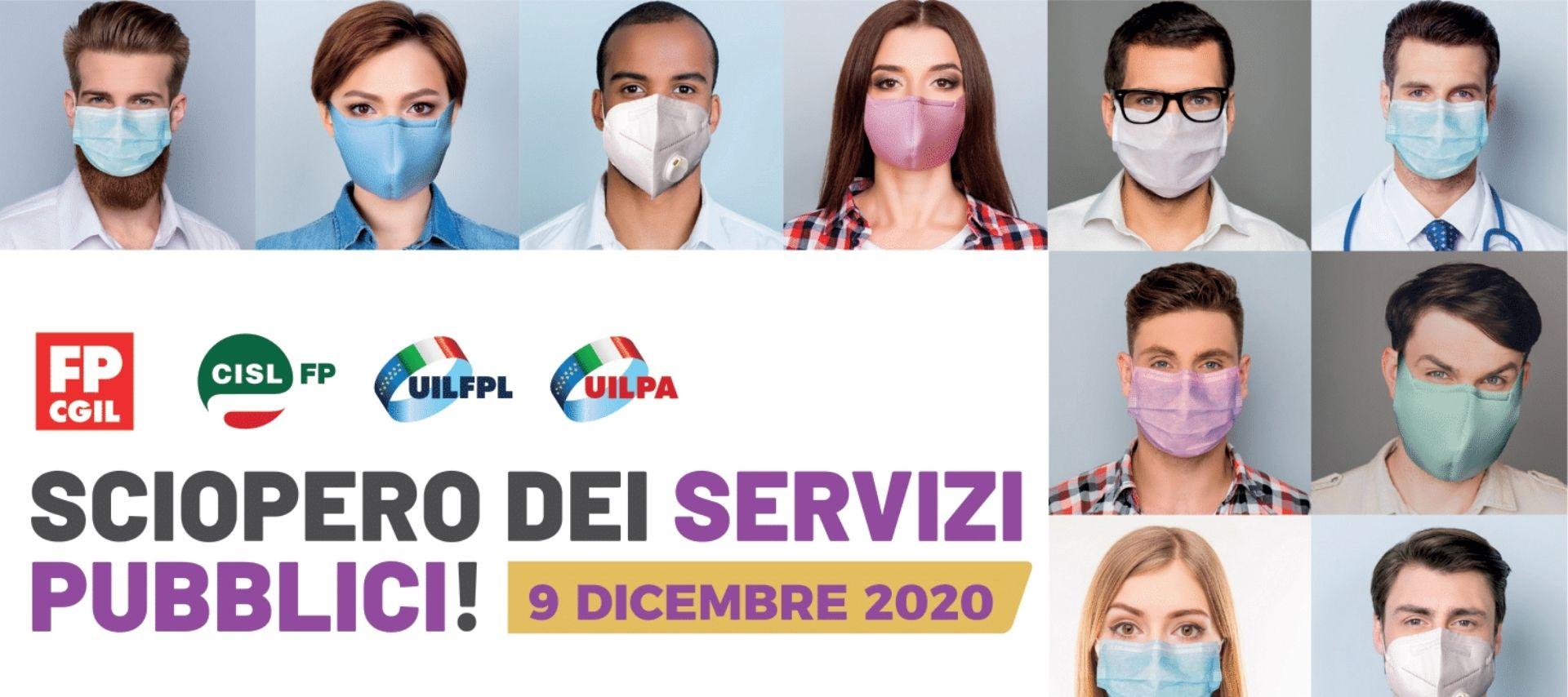 sciopero-pubblico-impiego-9-dicembre