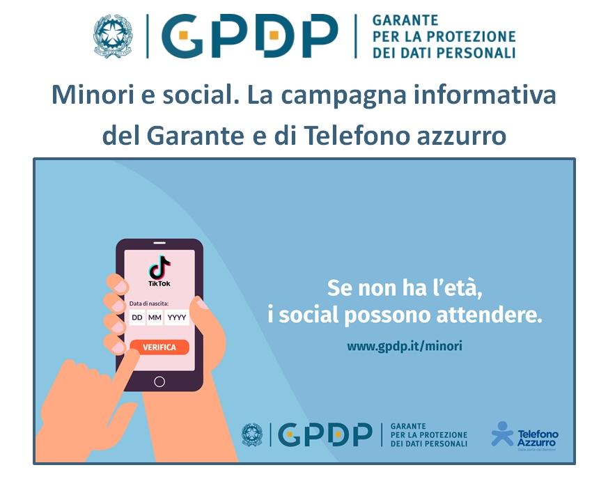 social-spot-garante-privacy-telefono-azzurro