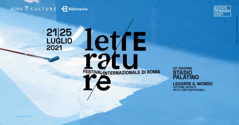 Festival delle Letterature Roma edizione 2021